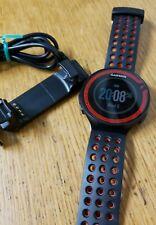 Garmin Forerunner 220 GPS Running Watch & Activity Tracker Black/Red W/ Charger