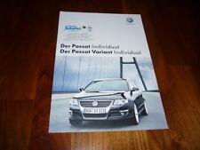 VW Passat Individual Prospekt 11/2007