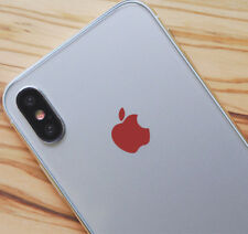 Red Color Changer Overlay for Apple iPhone X Logo Vinyl Decal