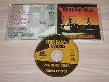 JOHNNY PRESTON CD - RUNNING BEAR / BEAR FAMILY in MINT-