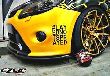 EZ-LIP FORD Focus MK3 Spoiler Spoilerlippe Lippe Frontspoiler Frontlippe TUNING