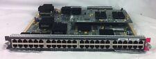 Cisco WS-X6748-GE-TX V03 48-Port RJ-45 10/100/1000 w/WS-F6700-CFC V06