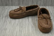 Old Friend Loafer Moccasin Slippers - Men's Size 10M - Brown