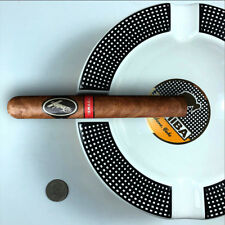 COHIBA Ceramic Round 4P Slots Cigar Holder Cigarette Large Ashtray Luxury Gift