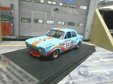 FORD Escort MKI RS1600 2000 #54 Kemiläinen Gulf 1972 Brands Hatch Trofeu 1:43
