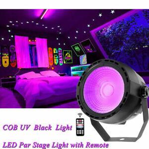 UV PAR Light COB LED DJ Stage Lighting DMX Wedding Disco Party KTV Lights Remote