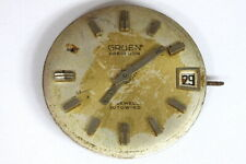 Gruen incomplete selfwind watch movement for parts/restore - 139160