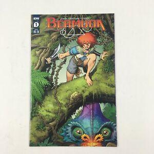 Bermuda IDW Comics #1 1:25 Retailer Incentive Cover NM Arthur Adams