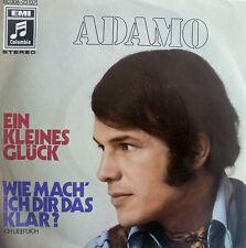 """7"""" 1969 COVERVERSION MINT-?  ADAMO : Ein kleines Glück"""