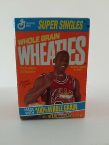 1992 WHEATIES SUPER SINGLES SERIES 1-1/2 OZ  MICHAEL JORDAN  BULLS Unopened