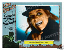 LONDON AFTER MIDNIGHT LOBBY SCENE CARD # 9 POSTER 1927 LON CHANEY