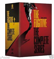The Fugitive Complete Series Season 1-4 (120 EPISODES) BRAND NEW 32-DISC DVD SET
