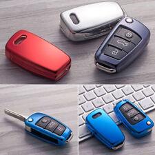 Anti-shock Flip TPU Key Fob Cover Holder Case For Audi A3 S3 A4 S4 A6 Q5 Q7 TT