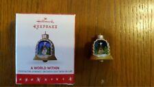 2016 Hallmark Ornament - A World Within - Miniature - free economy shipping