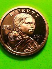 2005-S Sacagawea Dollar Proof Golden