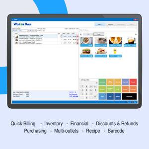 EPOS POS Restaurant, Bar, Coffee Shop takeaway WorrkBox software