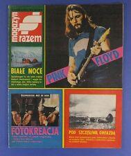 PINK FLOYD  mag.FRONT cover 1989  Mikhail Bulgakov,Master and Margarita