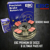 NEW EBC 247mm FRONT BRAKE DISCS AND PADS KIT BRAKING KIT OE QUALITY - PDKF1555