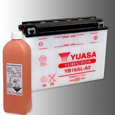 YUASA YB16AL-A2 Motorradbatterie 12V 16Ah YUMICRON inkl. Säurepack
