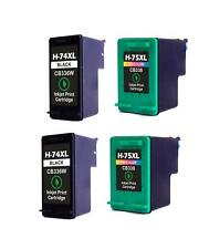 2PK NON-OEM INK FOR HP 74XL 75XL OfficeJet J5700 J5725 J5730 J5735 J5738 J5740