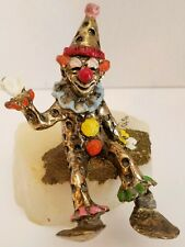 Vintage Creapy Clown Paperweight