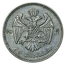 [NC] JUGOSLAVIA - 50 DINARA ARGENTO 1931 (nc4773)