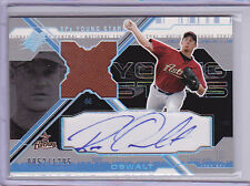 2003 SPx Young Stars Autograph Jersey #RO Roy Oswalt Auto 0052/1295