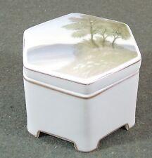 Rosenthal Hexagon Cachepot Tea Caddy Candy Jar Trinket Box Selb Bavaria EUC