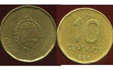ARGENTINE 10 centavos 1986