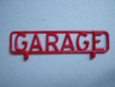 ENSEIGNE   GARAGE    POUR   STATION   SERVICE   MEMO   ANNEES  60   VROOM  1/43