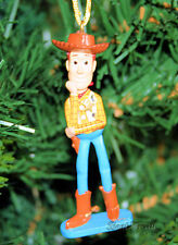 NEW Disney TOY STORY COWBOY SHERIFF WOODY BOOTS HAT STAR Christmas Ornament PVC