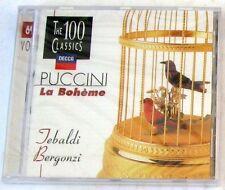 LA BOHEME Highlights - TEBALDI / BERGONZI - SERAFIN - CD Sigillato