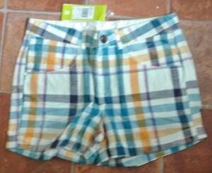 "New Adidas Wms/Teens shorts size Check size 10 27"" waist"
