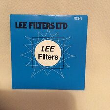 LEE Filter 85 Filtre N9 Gel 100 mm x 100 mm