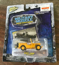 Johnny Lightning Military Muscle - WWII Jeep - 1:64 //NOC//
