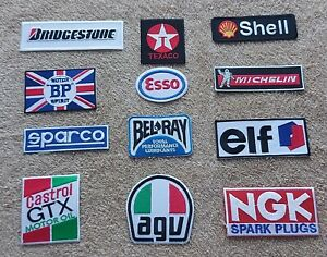 Set of 12 Motor Racing / Motor Sport Patches : Classic Cars Goodwood Festival b
