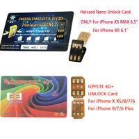2019 Sim Turbo Nano Unlock SIM Card For iPhone XS MAX /XR/X/8/7/6 LTE IOS 13.6