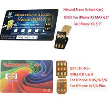 2019 Sim Turbo Nano Unlock SIM Card For iPhone XS MAX /XR/X/8/7/6 4G LTE IOS 12