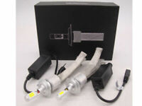 FANLESS H7 LAMPADINE LUCI COPPIA FARI LED AUTO CANBUS 100000LM 6500K XENON KIT