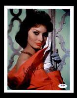 Sophia Loren PSA DNA Coa Signed 8x10 Photo Certified Autograph 5