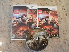 Nintendo Wii Lego The Lord of the Rings Complete ~SHIPS FREE