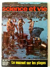 >SCIENCE ET VIE n° 597 du 06/1967;  Le mazout sur les plages/ radar de poche