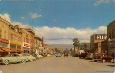 MONTPELIER ID 1953 Street Scene with all the Old Cars & Stores VINTAGE GEM+++
