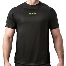 Arctic Cat Men's Base-Layer Tech High Stretch Polyester T-Shirt Black - 5283-02_