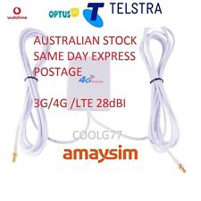 28dBi-3G-4G-LTE-ANTENNA-Telstra-Optus-Huawei-E5372T-E5377-E5776-E5786-TS9-plug