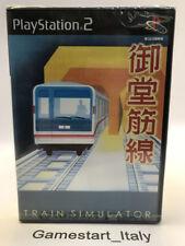 TRAIN SIMULATOR MIDOSUJI LINE - SONY PS2 PLAYSTATION 2 - NEW NTSC JAPAN VERSION