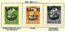 Lightly Hinged Bavarian German & Colonies Postage Stamps