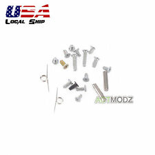 Full Parts of Screws L/R spring Metal Pillar for Nintendo DS lite NDSL