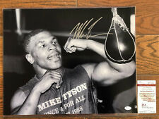 Mike Tyson Autographed 16x20 Photo - JSA COA signed