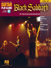 BLACK  SABBATH GUITAR TAB / TABLATURE  / **BRAND NEW** /  PLAY ALONG / SONGBOOK